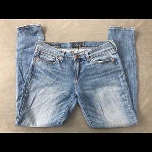 Lucky Brand Charlie Skinny 8/29 Jeans EUC